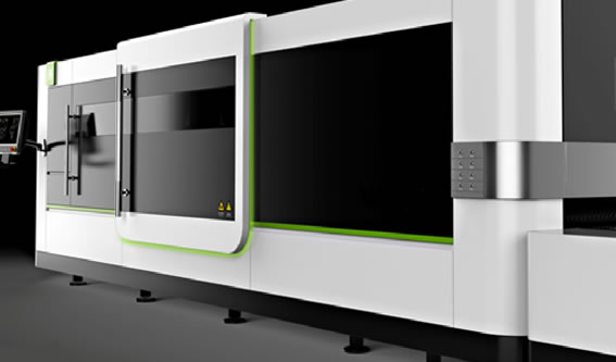 Side door open design of fiber laser cutting machine